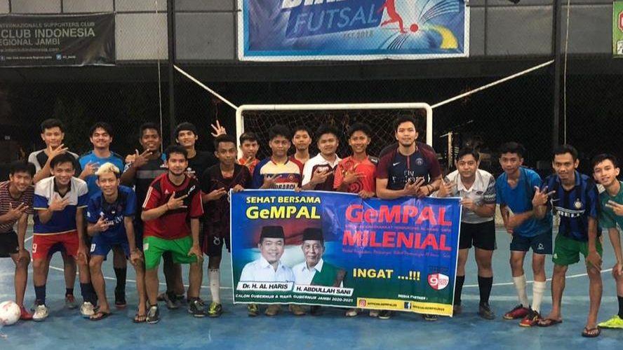 Putra Al Haris Ikut Turnamen Futsal