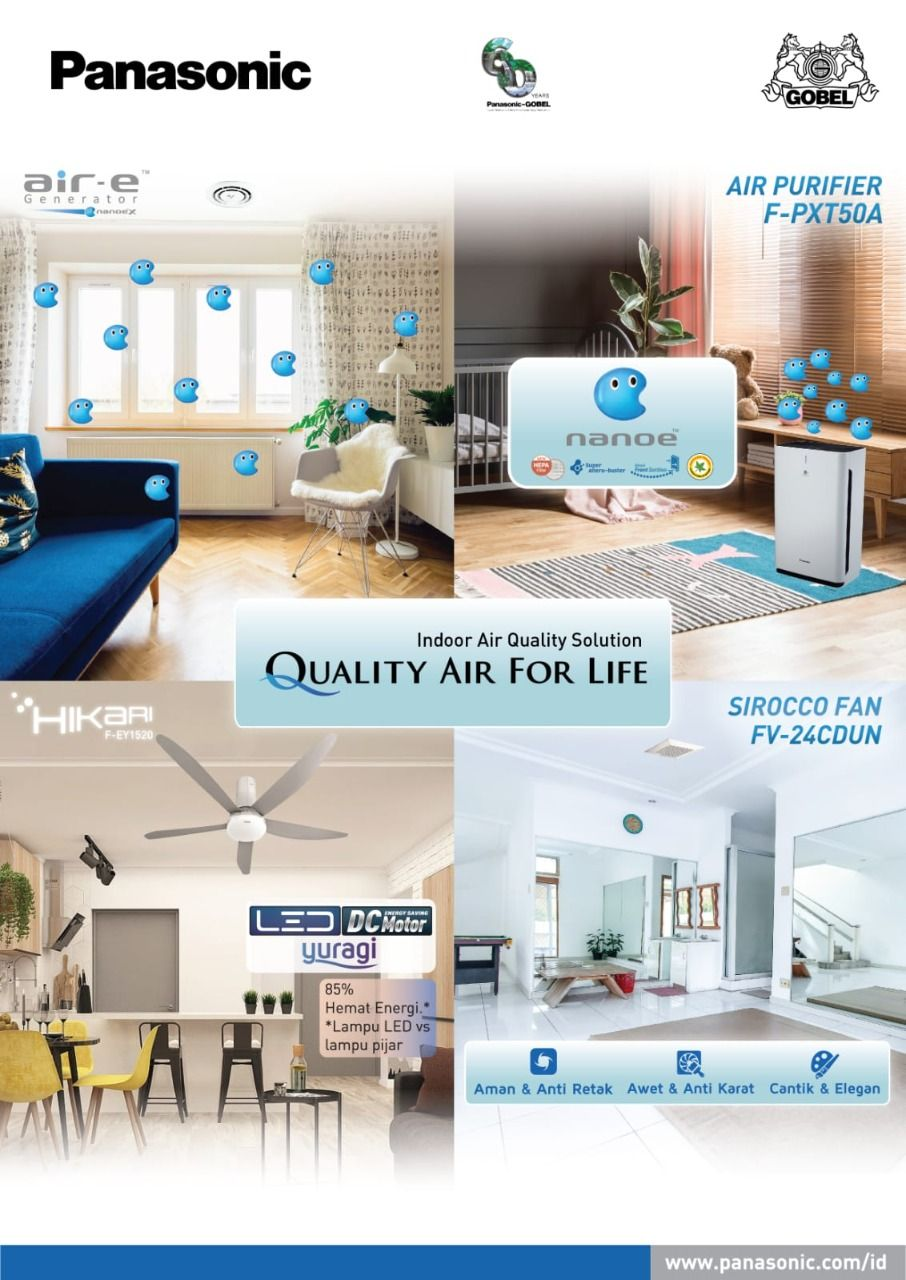 Quality Air for Life dari Panasonic