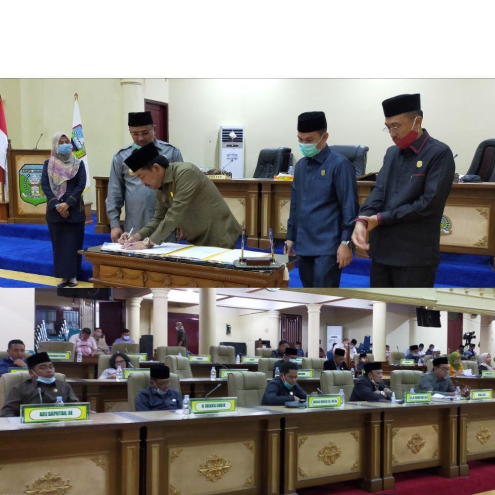 Ranperda APBD Kabupaten Sarolangun tahun 2021 disetujui