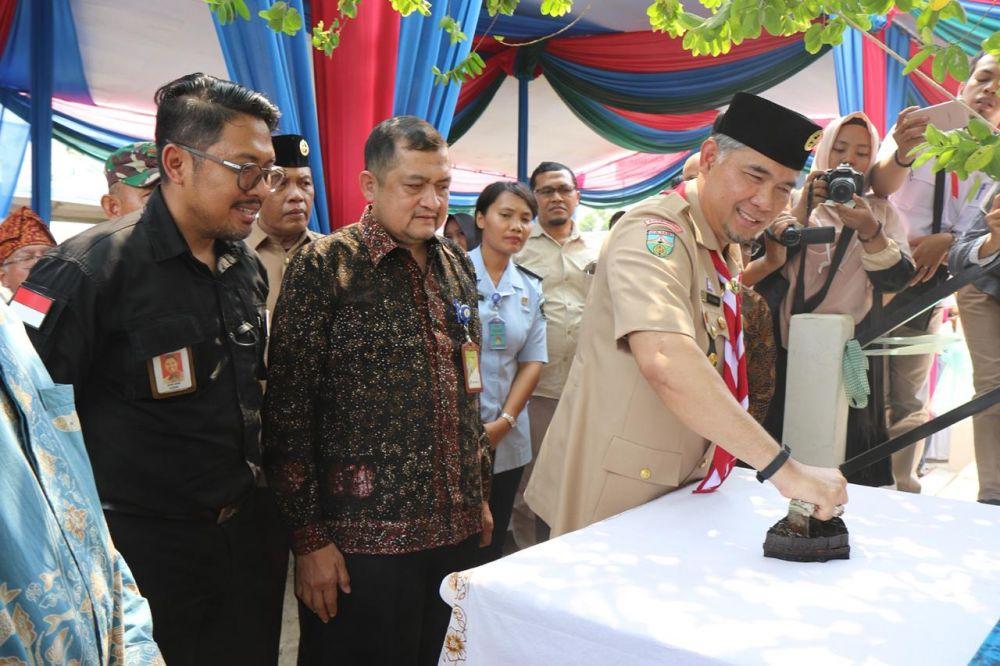 Walikota Jambi Syarif Fasha Meresmikan Rumah batik legok.
