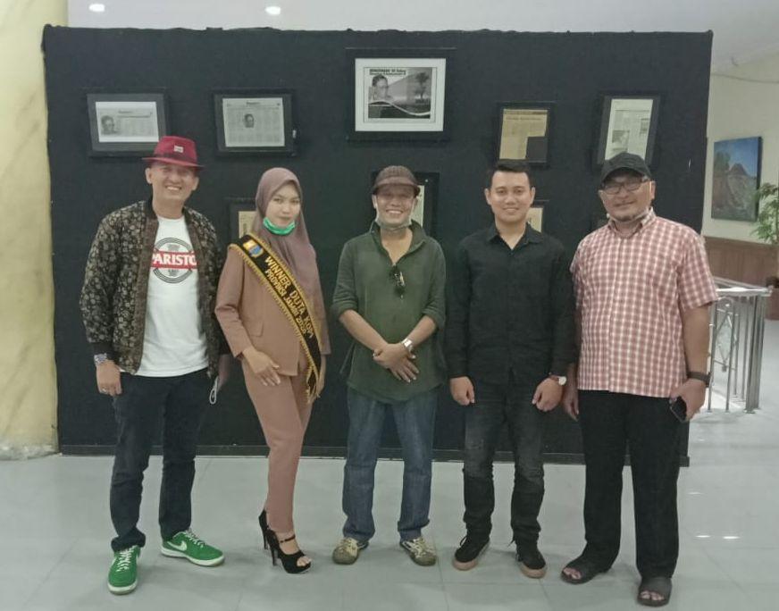 Duta Kopi Jambi turut sukseskan pameran lukisan