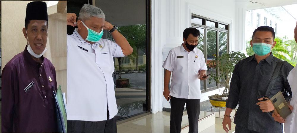 Sekda, Ir Endang Abdul Naser dan Kadis Perkim H Saipullah
