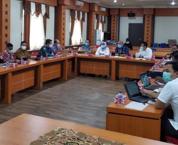 Dinas Pekerjaan Umum dan Perumahan Rakyat (PUPR) Provinsi Jambi menggelar rapat bersama pihak terkait guna membahas duplikasi pembangunan jembatan tersebut.
