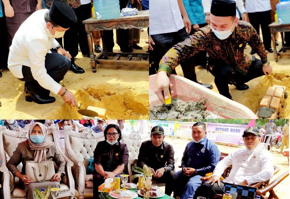Ketua DPRD, Tontawi Jauhari SE dan Waka I, Aang Purnama SE MM
