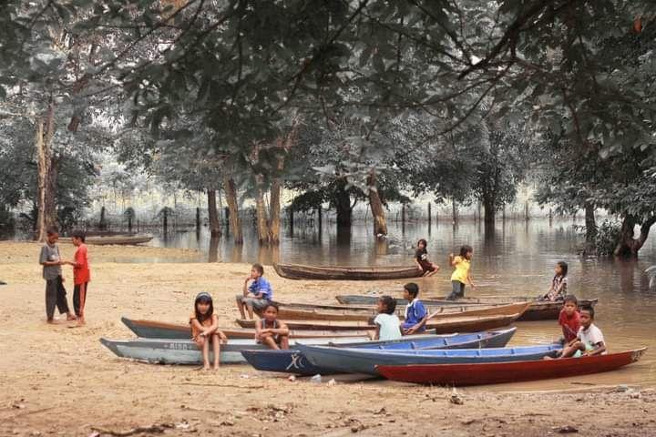Sudut lingkungan Percandian Muara Jambi