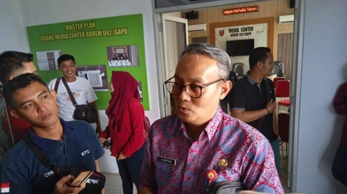 Pelaksana Tugas Kepala BKD Provinsi Jambi Akhmad Bestari