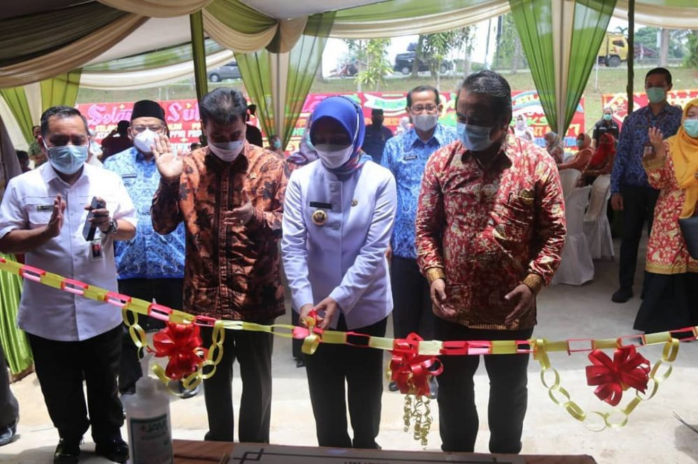 HUT ke-47 Persatuan Perawat Nasional Indonesia (PPNI) Provinsi Jambi Tahun 2021, sekaligus peresmian gedung PPNI, Rabu (17/3), bertempat di perumahan Aston Vila, Mendalo Darat, Kabupaten Muaro Jambi.