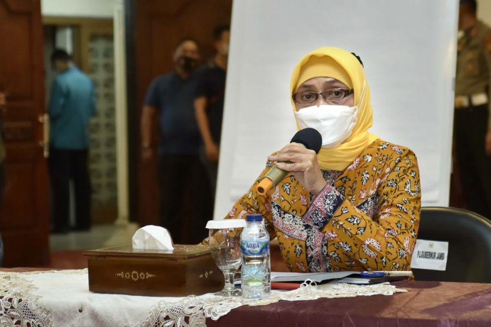 Pj Gubernur Jambi Dr Hari Nur Cahya Murni