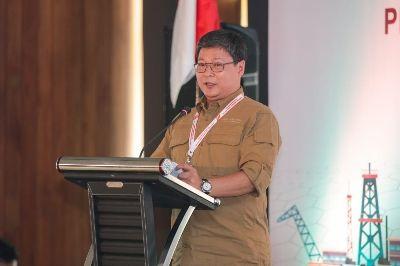 Deputi Operasi SKK Migas Julius Wiratno di Jakarta (7/4).