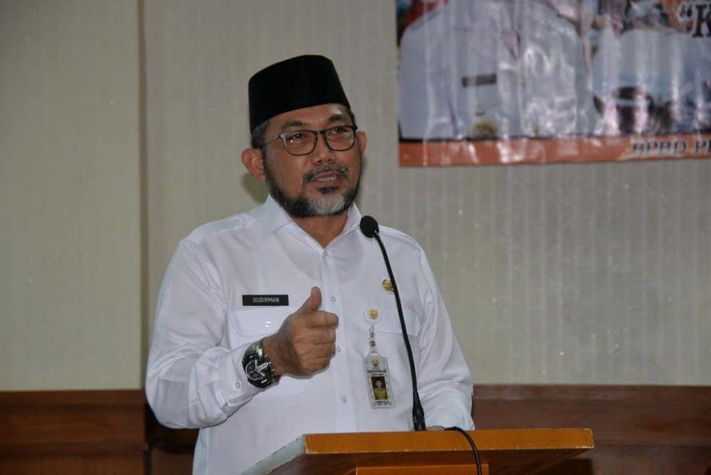 Sekretaris Daerah Provinsi Jambi, H.Sudirman