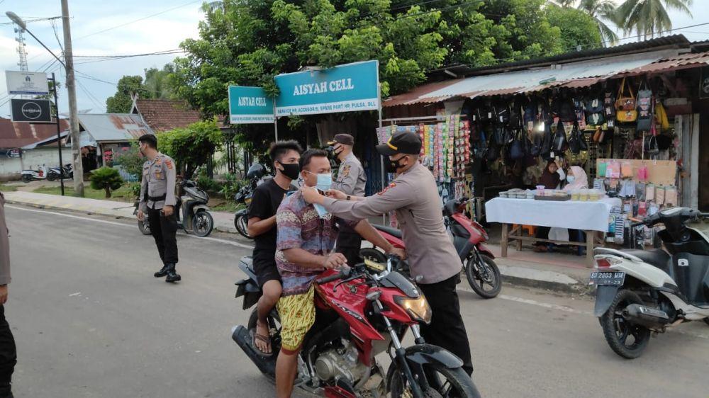 Kepolisian Daerah Tebo penerapan protokol kesehatan