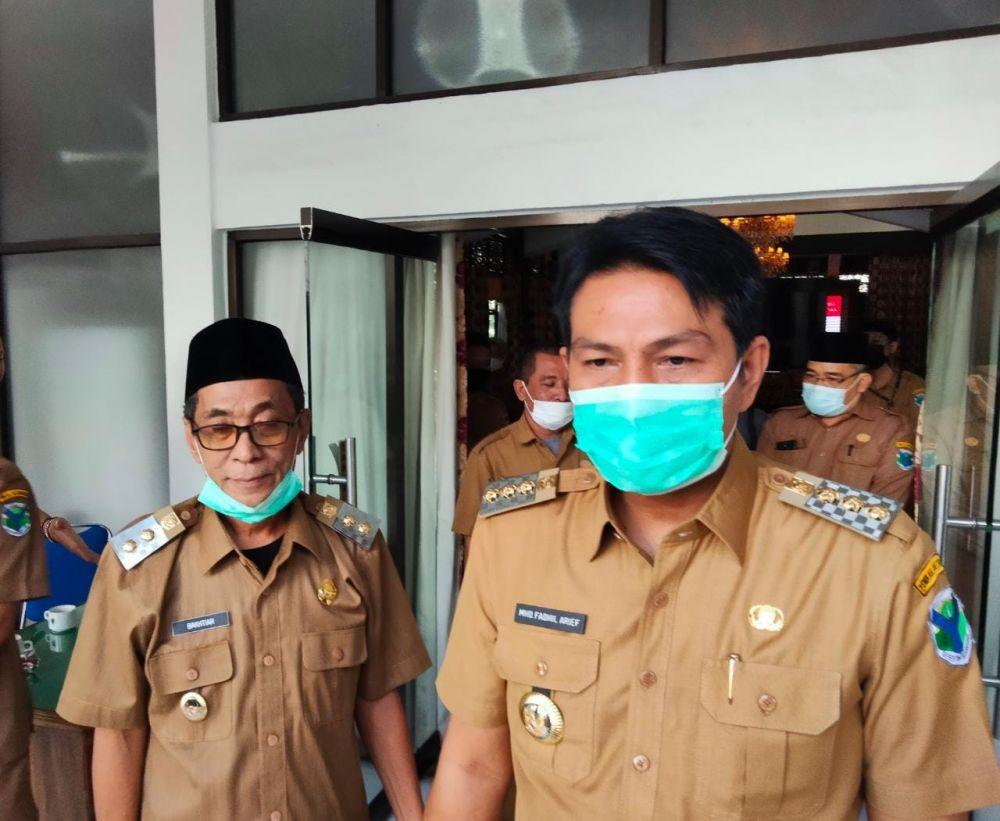 Bupati Batanghari M Fadhil Arief