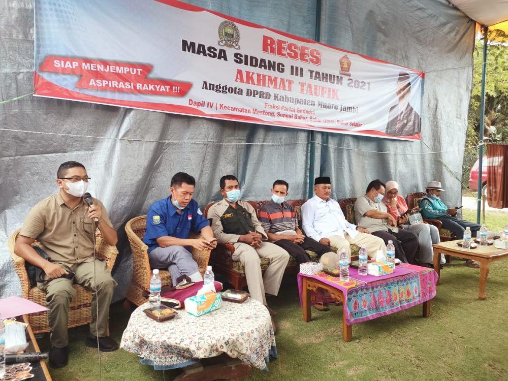 Reses Ahmad TaufIK Dewan Kabupaten Muarojambi.