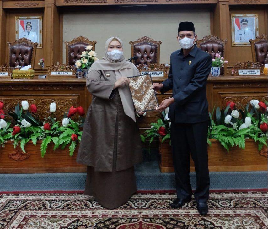 Bupati dan Wakil ketua II DPRD Muarojambi