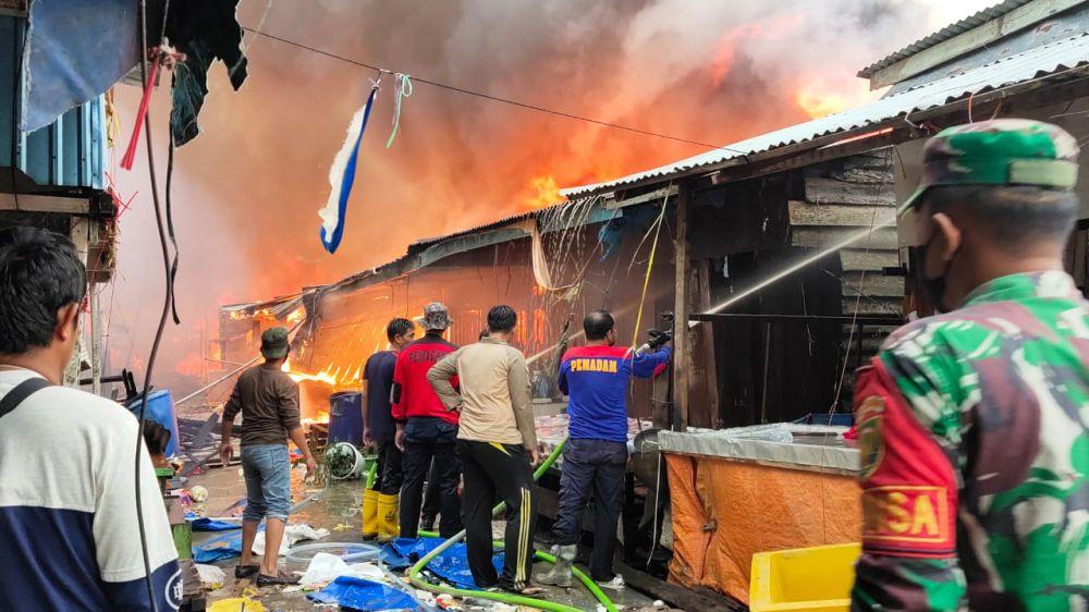 Kebakaran terjadi di wilayah Kabupaten Tanjung Jabung Timur