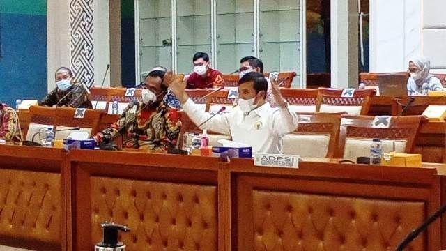 Rapat Dengar Pendapat Umum (RDPU) bersama Badan Akuntabilitas Keuangan Negara (BAKN) DPR RI di Jakarta, Kamis (17/6/2021).