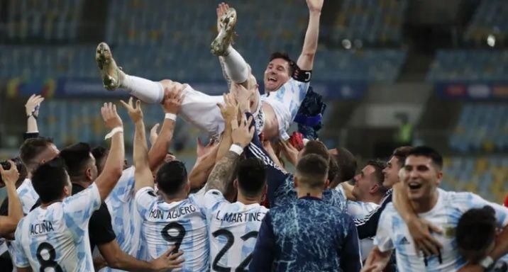 Lionel Messi memboyong hampir semua gelar di Copa America 2021.