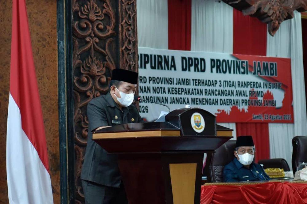 Gubernur Jambi H. Al Haris