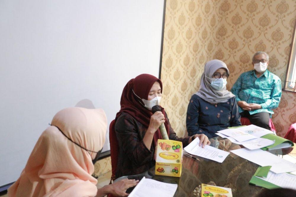 Rapat Koordinasi Kelompok Kerja (Pokja) Pendidikan Anak Usia Dini (PAUD) Provinsi Jambi, bertempat di Kantor TP-PKK Provinsi Jambi, Senin (06/09/2021)