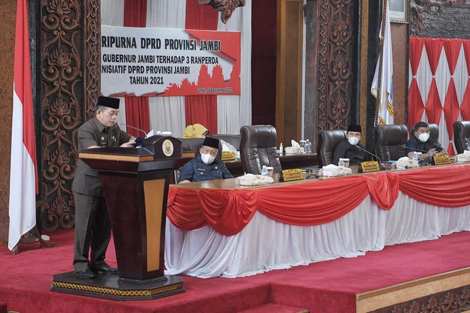 Gubernur Jambi Dr. H.Al Haris, S.Sos, M.H.
