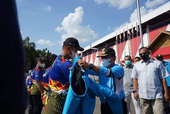 Pelepasan Atlet Provinsi Jambi ke PON Papua