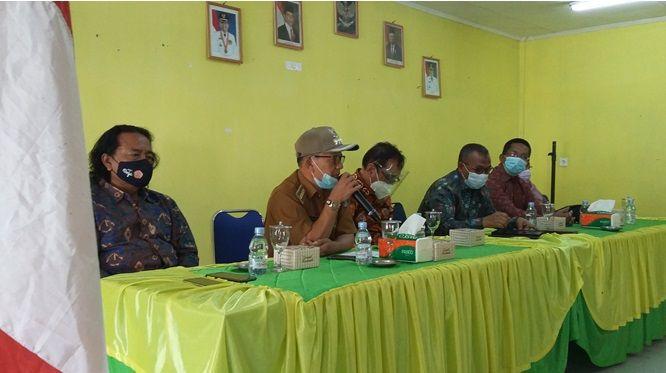 Berlangsungnya kegiatan PkM yang dilakukan oleh dosen FH Unja di Kecamatan Gunung Tujuh Kabupaten Kerinci, Senin 21 Juni 2021