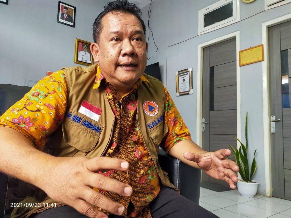 Kepala Badan Penanggulangan Bencana Daerah (BPBD) Kabupaten Batanghari, Bebi Andihara